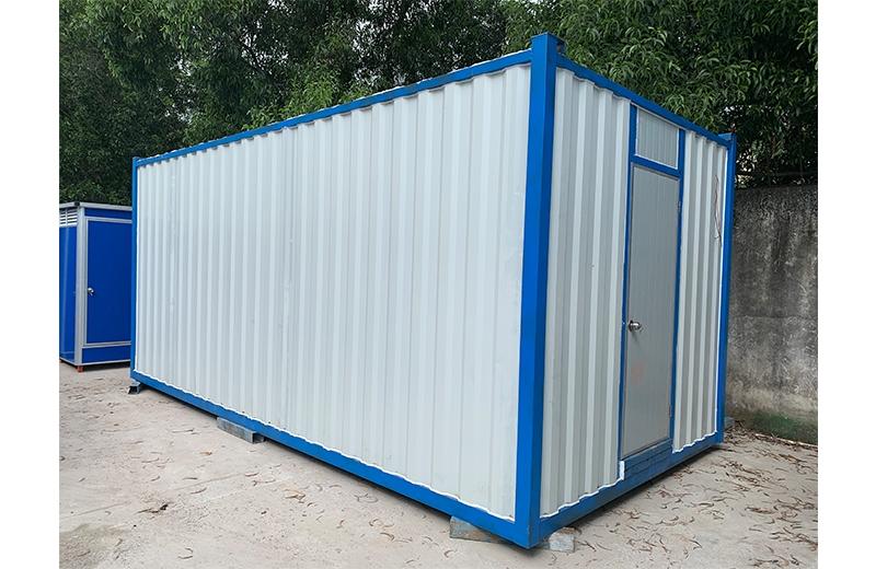 建筑工地为什么都喜欢用集装箱卫生间?