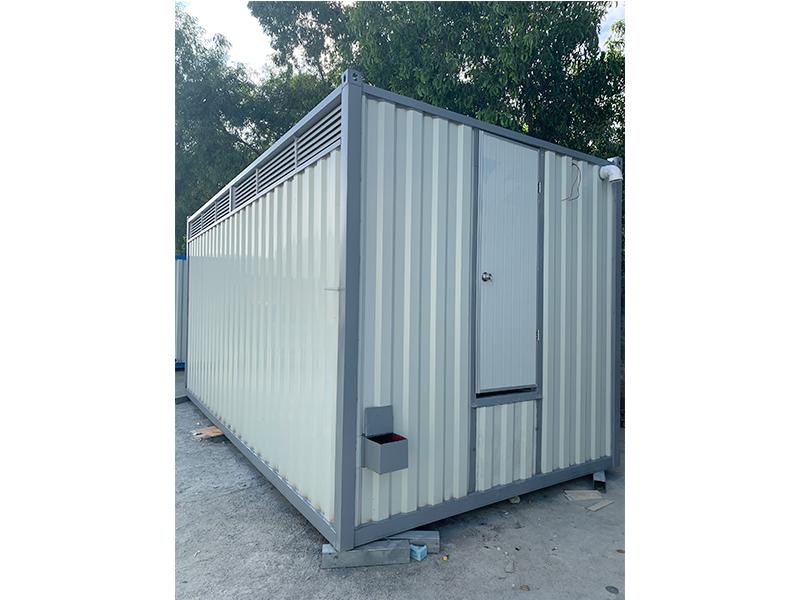 一体式集装箱厕所带化粪箱