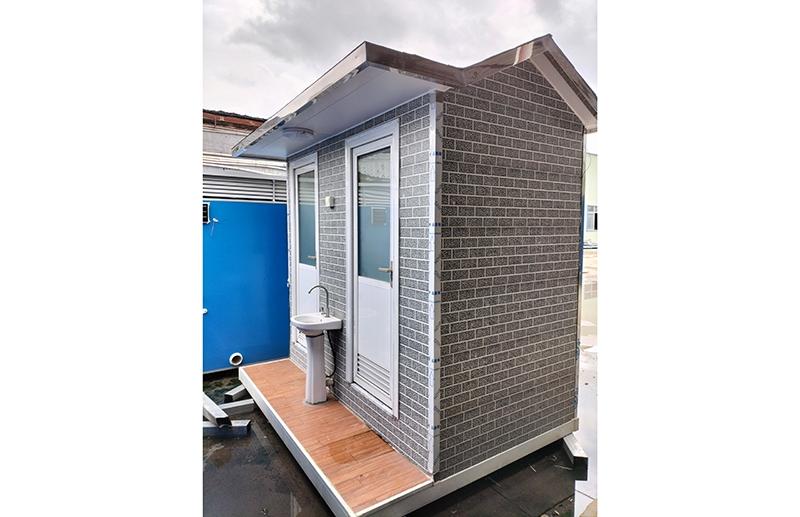 金属花雕板双卫厕所